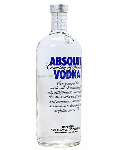 Absolut Vodka 40% 100cl