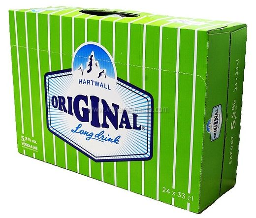 Hartwall Original Long Drink Lime 5,5% 24x33cl