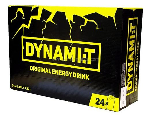 Dynami:t Energy Drink 24x33cl