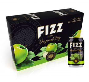 Fizz Original Dry 4,7% 24x33cl
