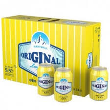Hartwall LD GIN LEMON 5,5% 24x33cl (Uutuus)