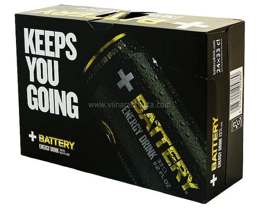 Battery Energy Drink 24x33cl