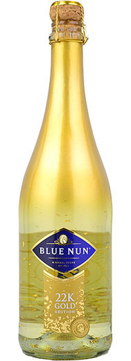 Blue Nun 22 Carad Gold Edition Dry 11% 75cl