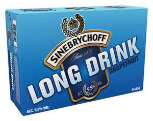 Sinebrychoff Long Drink Grapefruit 5,5% 24x33cl